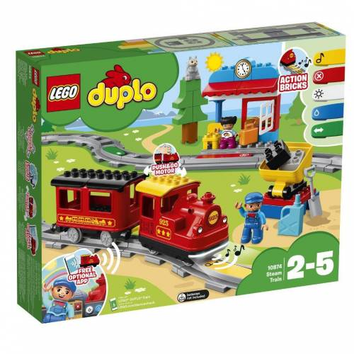 LEGO® Dampfeisenbahn