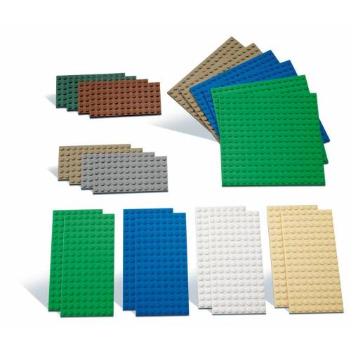LEGO® LEGO® Bauplatten Set klein - 9388