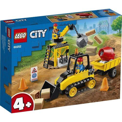 LEGO® Bagger auf der Baustelle