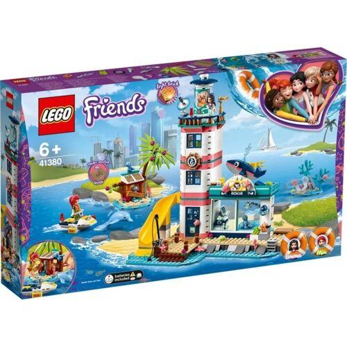 LEGO® Leuchtturm mit Flutlicht