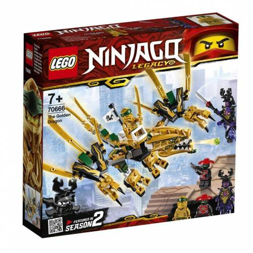 LEGO 70666 - Goldener Drache