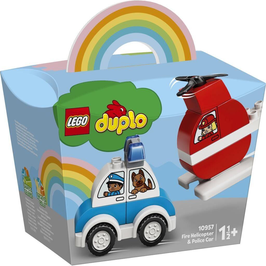 LEGO 10957 - Feuerwehrhubschrauber und Polizeiauto