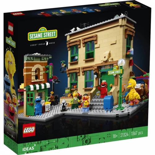 Lego 21324 - LEGO Ideas - 123 Sesamstraße