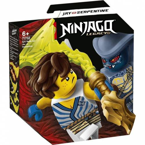 LEGO 71732 - Battle Set: Jay vs. Serpentine