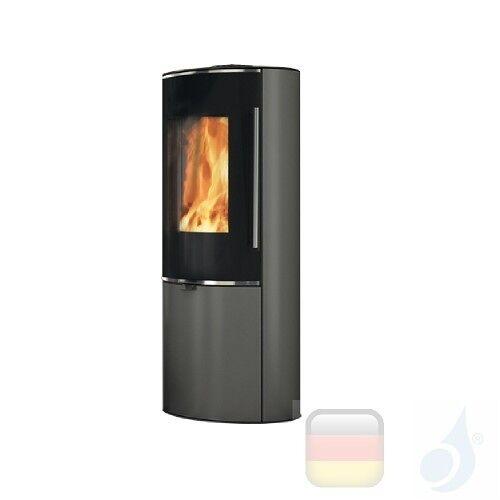 Edilkamin Holzofen Tally 8 Up 8.0 kW Grau Beschichtungstyp stahl A+