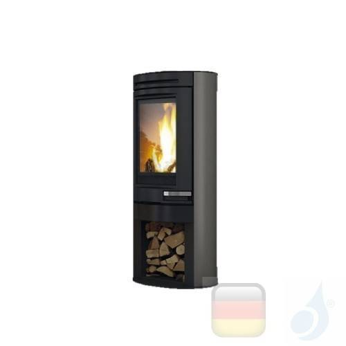 Edilkamin Holzofen Tally 8 8.0 kW Grau Beschichtungstyp stahl A+