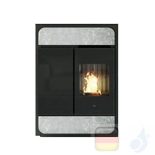 Edilkamin Raumluftunabhängige Pelletöfen Bild Air Tight C 9.1 kW Ductable Stein Beschichtungstyp naturstein A+