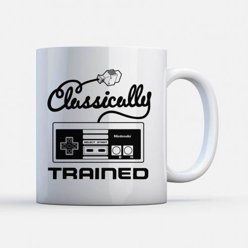 Nintendo NES Classically Trained Tasse