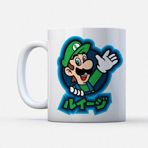Nintendo Super Mario Luigi Kanji Tasse