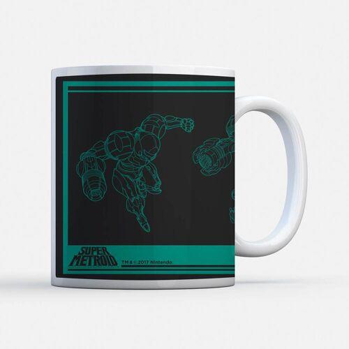 Nintendo Super Metroid Power Suit Tasse