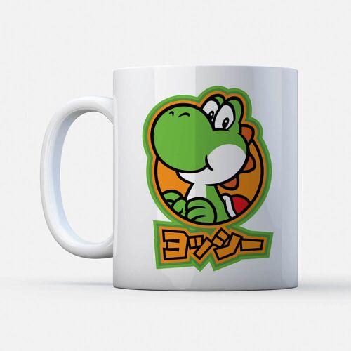 Nintendo Super Mario Yoshi Kanji Tasse