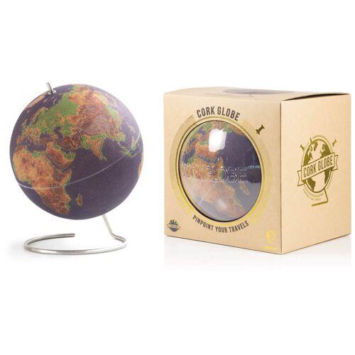 Suck UK Große gefarbte Kork-Globus