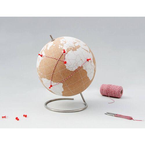 Suck UK Weiße Kork-Globus – Groß