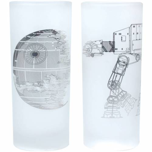 Star Wars Glaser Set Todesstern
