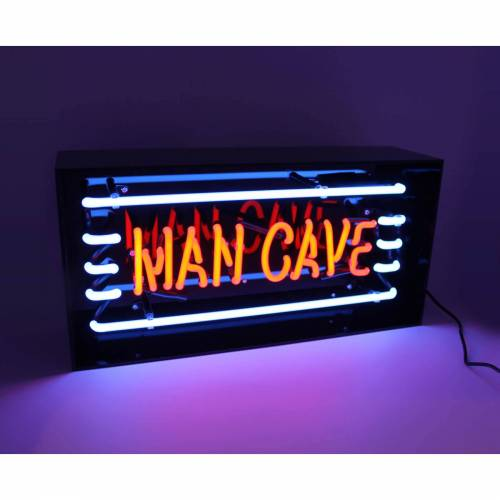 "Locomocean Neon Acryl-Leuchtkasten – ""Man Cave"""