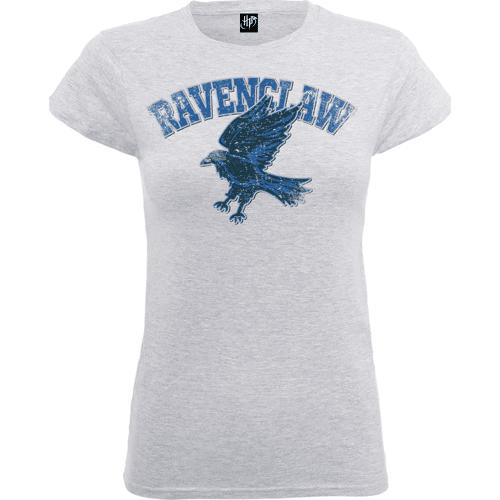 Harry Potter Ravenclaw Frauen T-Shirt - Grau - M - Grau