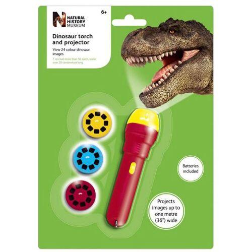 Brainstorm Naturkundemuseum Dinosaurier Taschenlampe und Projektor