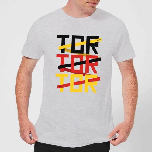 By IWOOT Fussball Weltmeisterschaft TOR TOR TOR Herren T-Shirt - Grau - 3XL - Grau