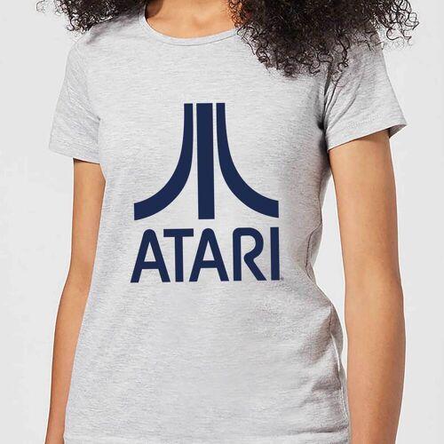 Atari Logo Damen T-Shirt - Grau - XL - Grau