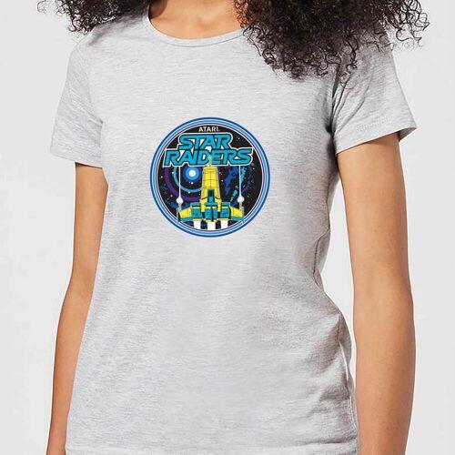 Atari Star Raiders Damen T-Shirt - Grau - 4XL - Grau
