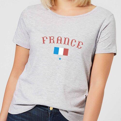 Football Damen T-Shirt - Grau - L - Grau