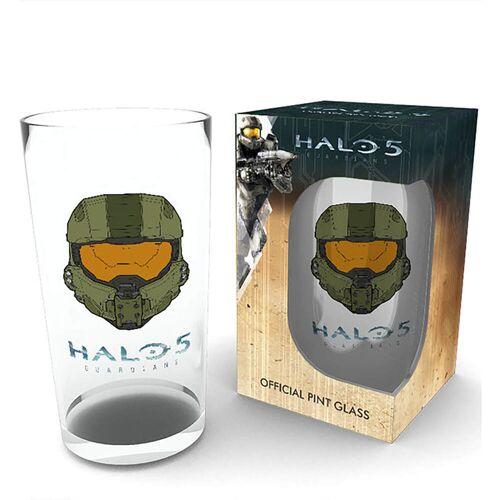 GB Eye Bierglas mit Halo 5 Maske