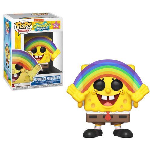 Pop! Vinyl Spongebob Schwammkopf - SpongeBob mit Regenbogen LTF Pop! Vinyl Figur