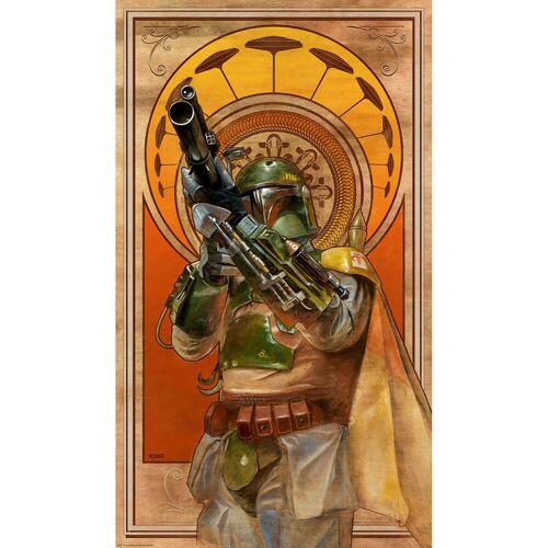 Acme Archives Star Wars: Das Imperium Schlägt Zurück Cloud City Gambit 35 x 61 CM Lithographie Druck Von Lee Kohse