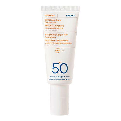 KORRES Yoghurt Sonnencreme-Gel für das Gesicht SPF 50 40 ml