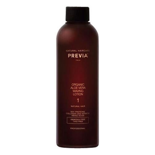 PREVIA Organic Aloe Vera Waving Lotion 1 - für normales, natürliches Haar, 200 ml