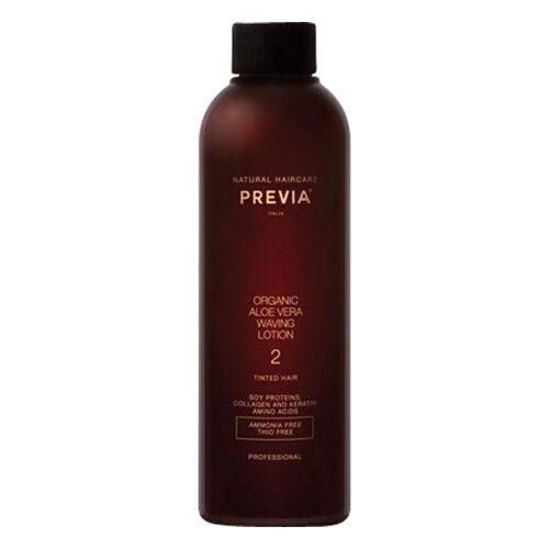 PREVIA Organic Aloe Vera Waving Lotion 2 - für gefärbtes Haar, 200 ml