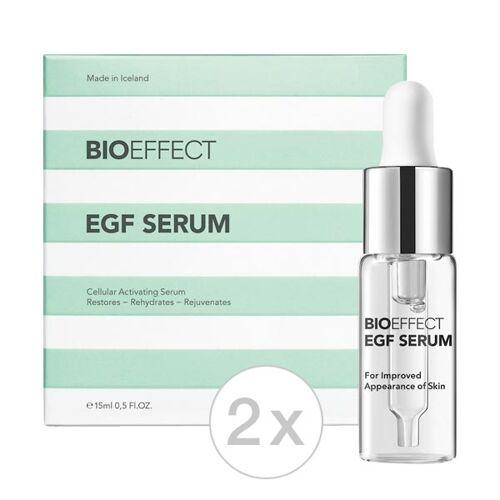 BIOEFFECT EGF SERUM Set (2 x 15 ml) Packung mit 2 x 15 ml