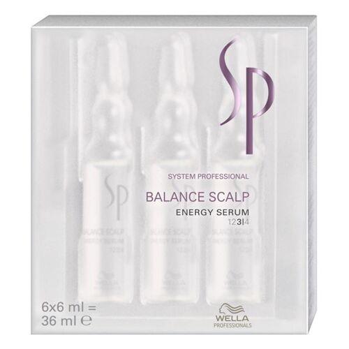 Wella SP Balance Scalp Energy Serum Packung mit 6 x 6 ml