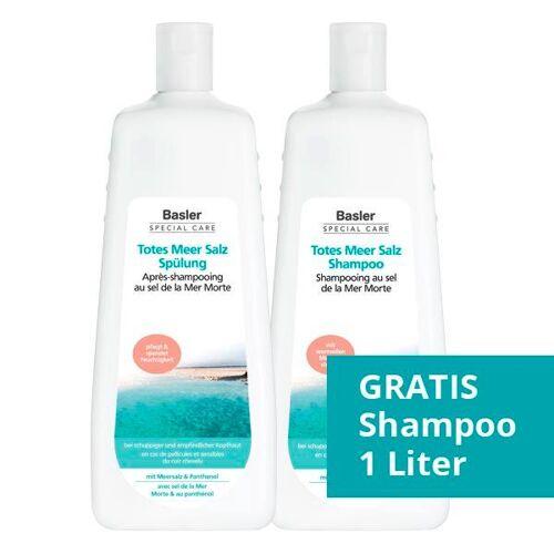 Basler Totes Meer Salz Set (Shampoo 1 Liter + Spülung 1 Liter)