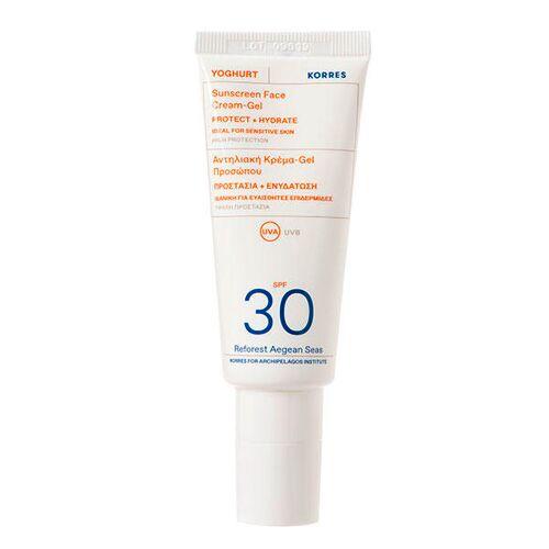 KORRES Yoghurt Sonnencreme-Gel für das Gesicht  SPF 30 40 ml