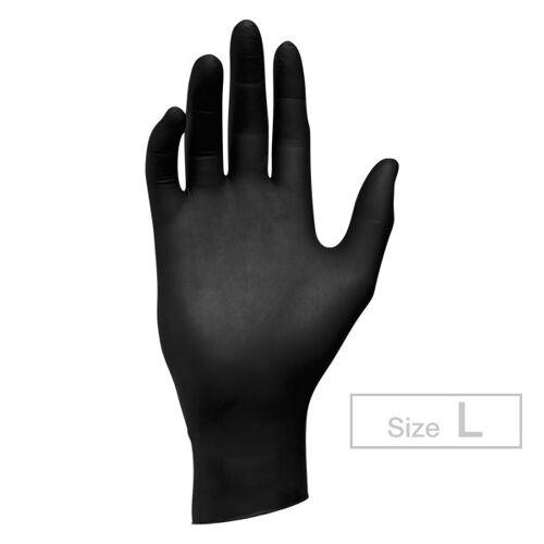 Fripac-Medis Semperguard Nitril Einmalhandschuhe Größe L, Pro Packung 100 Stück