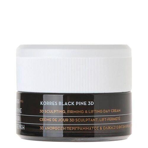 KORRES Black Pine 3D Tagescreme für trockene und sehr trockene Haut 40 ml