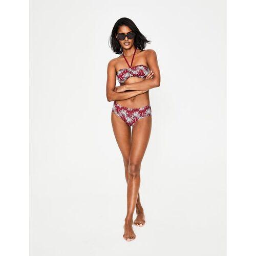 Boden Rot, Palmenmuster Bikini-Shorts Damen Boden, 38, Brown
