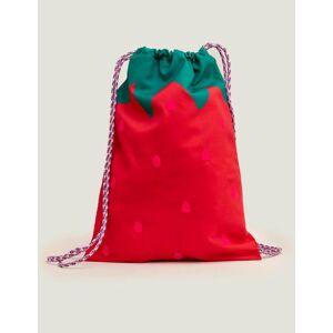 Mini Sommermohn/Rosa Neue Tasche mit Zugband Mädchen Boden, Eine Größe, Pink