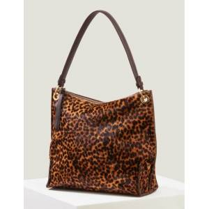 Boden Leopard Portia Schultertasche Damen Boden, Eine Größe, Brown