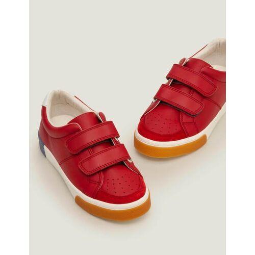 Mini Rot Niedrige Sneaker aus Leder Jungen Boden, 33, Red
