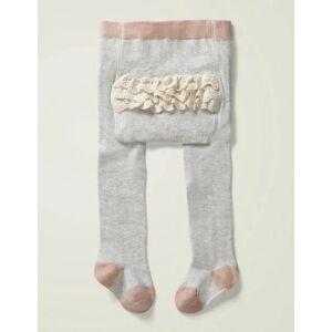 Mini Grau Strumpfhose mit Rüschen Baby Baby Boden, 104, Grey