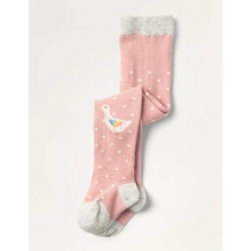 Mini Delfinrosa, Gänseküken Strumpfhose für jeden Tag Baby Baby Boden, 104, Pink