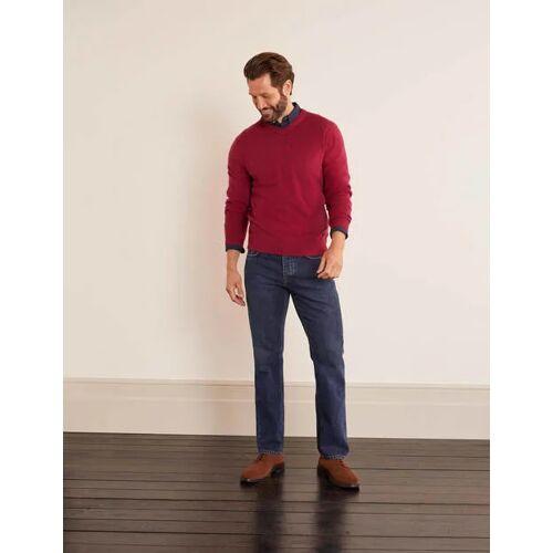 Boden Denim Jeans mit geradem Bein Herren Boden, 30 36in, Denim