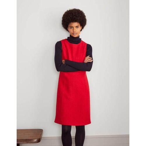 Boden Rot Bleistiftkleid aus Walkwolle Damen Boden, 38 R, Red