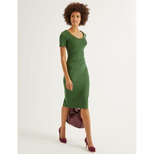 Boden Ackerbohnengrün Honor Ponte-Kleid Damen Boden, 48 L, Green