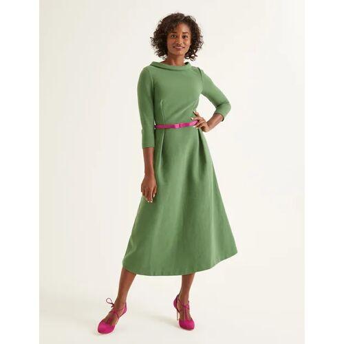 Boden Ackerbohnengrün Violet Ottoman-Kleid Damen Boden, 46 L, Green