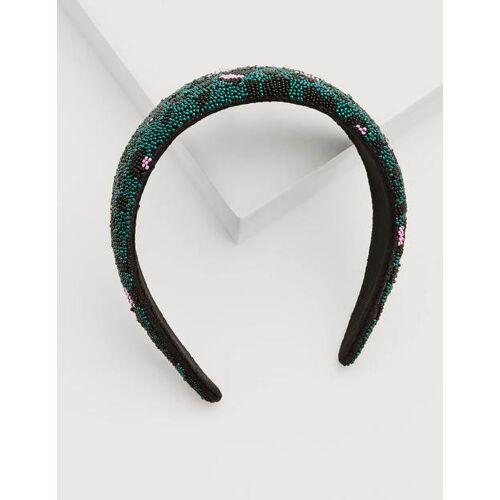 Boden Grün Haarband mit Perlen Damen Boden, Eine Größe, Green