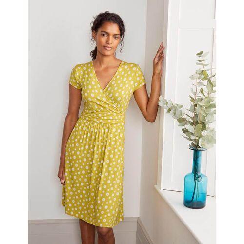 Boden Schwefelgelb, Strohblume Lola Jerseykleid Damen Boden, 34 R, Yellow