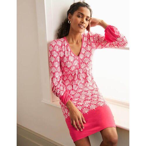 Boden Bonbonrosa, Meereskoralle Dara Jerseykleid Damen Boden, 42 R, Pink